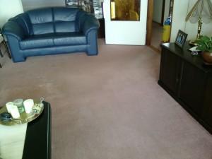 tapijt woonkamer schoonmaken
